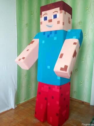 Ростовая кукла майнкрафт, пошив под заказ