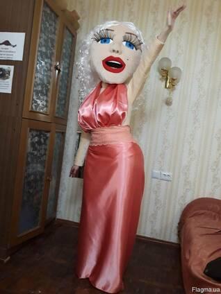 Ростовая кукла Мерилин, ростовой костюм под заказ
