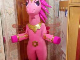 Ростовая кукла пони единорог, изготовление ростовых кукол на
