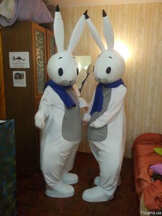Ростовая кукла заяц, пошив под заказ