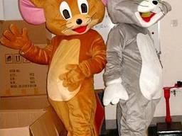 Ростовые куклы Том и Джерри, под заказ