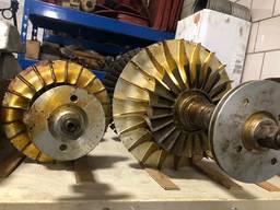 Роторы к турбокомпрессорам типа PDH-16 и PDH-35