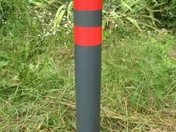 Тротуарный парковочный сигнальный столбик 600 мм