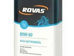 Rovas 80w-90 трансмисионное немецкое масло