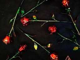 Роза кованая сувенирная