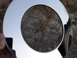 Розета нержавеющая (фланец) диаметр 150мм - 52шт