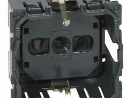 Розетка электрическая 2К+З (16А, 250В, автоматические...