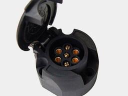 Розетка фаркопа 7-ми контактная