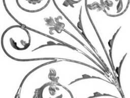 Розетка (орнамент, барокко) для заборов