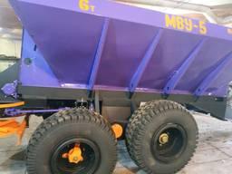 Розкидач мінеральних добрив МВУ-8, РУМ-8.