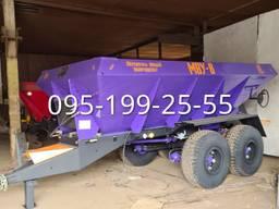 Розкидач мінеральних добрив МВУ-8 - запчастини до МВУ-8, МВУ-6, МВУ-5