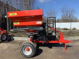 Розкидач мінеральних добрив РУМ-2200, Візок для розкидачів добрив ВТ-3