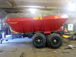 Розкидач мінеральних добрив РУМ-8, МВУ-8.