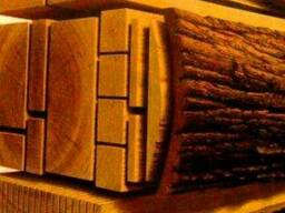 Строгание деревянных заготовок, прогонка на 4-х стороннем ст
