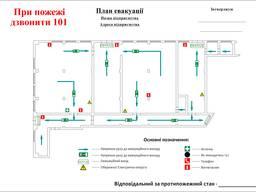 Розробка плану евакуації