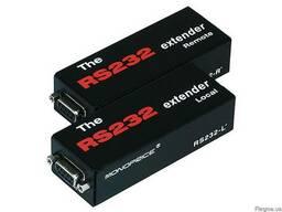 RS-232 удлинитель по CAT 5e кабелю, расстояние 1000м / 3300