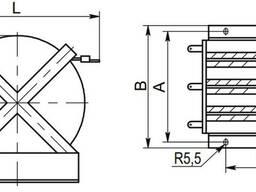 РТТ-0, 38-50-0, 14 У3 - реактор токоограничивающий. 87г.