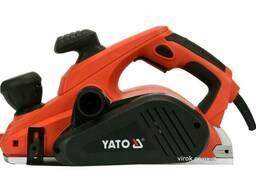 Рубанок мережевий YATO 1300 Вт 110 мм