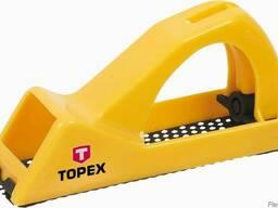 Рубанок рашпильный 140 мм для гипсокартона TOPEX
