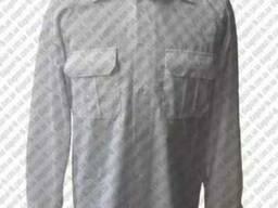 Рубашка форменная на длинный рукав производство