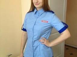 Блуза женская, униформа для обслуживающего персонала