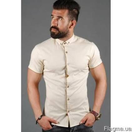 f990d77b80e26e6 Рубашка мужская приталенная с коротким цена, фото, где купить Киев,  Flagma.ua #4256585