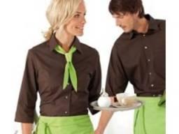 Рубашка официанта Браун