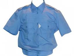 Рубашка повседневная женская (короткий рукав) МВД