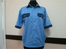Рубашка с коротким рукавом для охранных структур