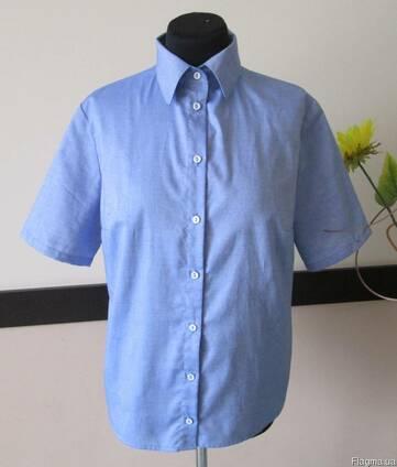 c46f786b625 Рубашка с коротким рукавом женская мужская 100%хб