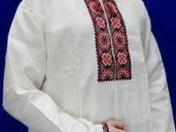 Рубашка вышиванка украинская женская или мужская