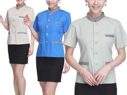 Рубашка женская пошив рубашек для официантов