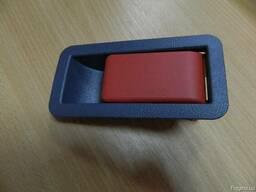 Ручка двери светло-серая (мыльница) Vario