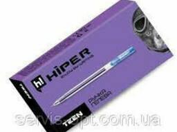 Ручка масляная Hiper Teen Gel GH - 125 (0. 6мм) синяя 10шт. ..
