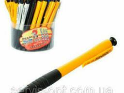 Ручка шариковая Zongze PEN автомат синий, 60 шт в диспл. .. .