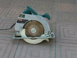 Ручная дисковая пила (аренда электроинструмента)