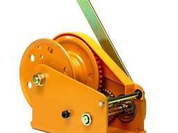 Ручная лебедка Gutman c тормозным фиксатором, тип BHW-2600