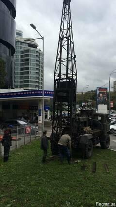Ручное бурение скважин в труднодоступных местах Киев