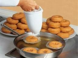 Ручной диспенсер дозатор форма для приготовления пончиков. ..