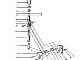 Ручной тормоз на погрузчики ДВ-1621 и ДВ-1661 Балканкар
