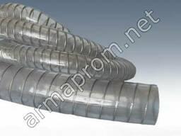 Рукав ПВХ напорно-всасывающий с металической спиралью