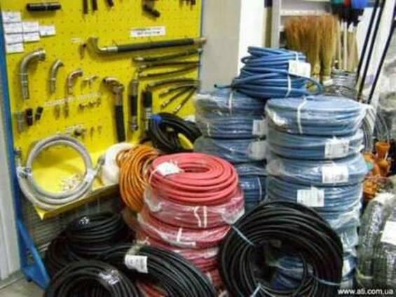 Рукава резиновые газовые, высокого давления, напорные и пр.