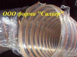Гофрорукав ПУ армированный д. 102мм для стружки ЧПУ