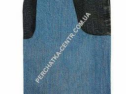 Рукавица джинсовая с двойным надолоником