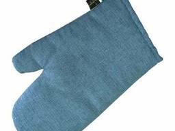 Рукавичка Ретро з синім SKL58-252148