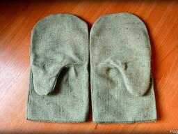 Рукавицы брезентовые с двойным наладонником