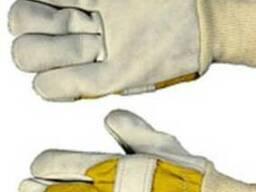 Рукавицы,перчатки,брезентовые рукавицы,краги сварщика