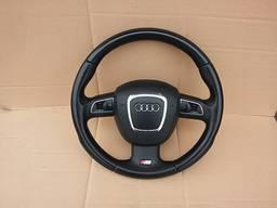 Руль с подушкой безопасности Audi Q5 S-LINE.