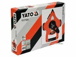 Рулетка геодезична скловолоконна YATO 50 м х 15 мм