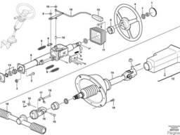 Рулевое колесо VOE11059557 для Volvo A40F